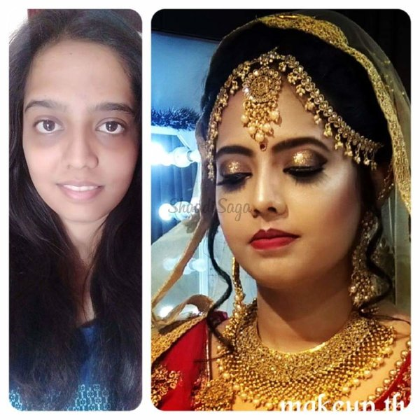 Makeup transformation ( before- after) | Portfolio - Makeup Therapy