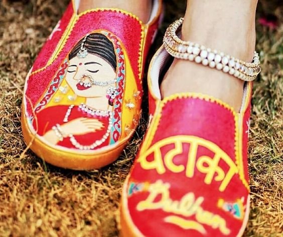 15 Quirky Bridal Footwear Options for