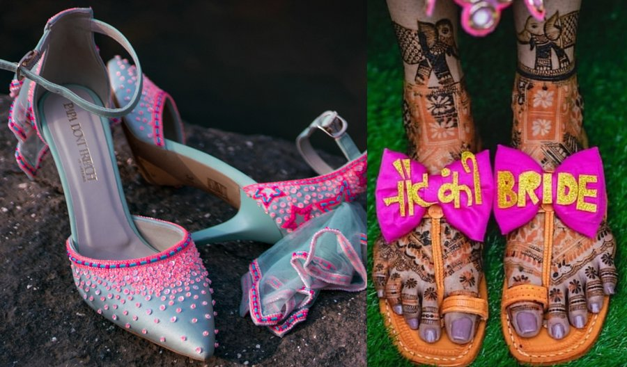 15 Quirky Bridal Footwear Options for the Bridechillas Out