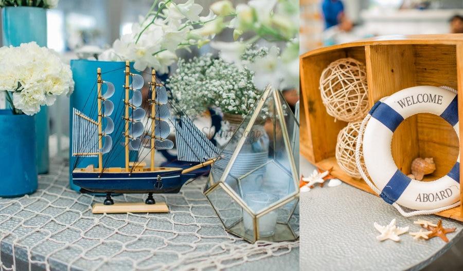 This Nautical Theme Wedding Brunch Decor Looks As Fresh As The Sea