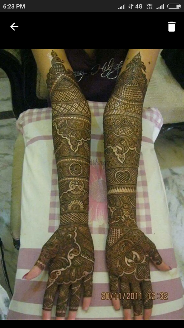 Bridal mehndi designs | Portfolio - Raju Mehandi Artist, Mehndi