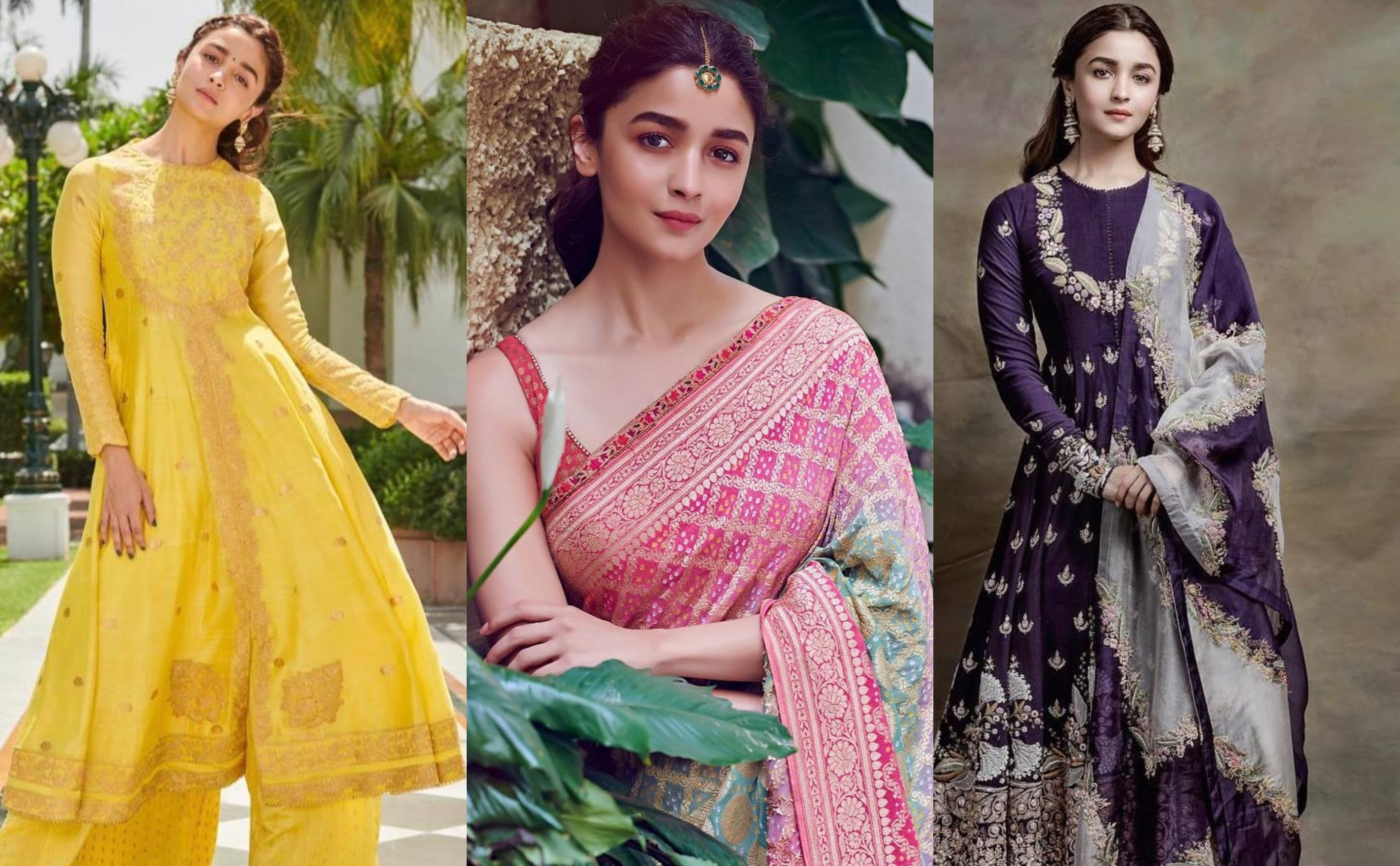 15 Most Gorgeous Ethnic Outfits Alia Bhatt Wore For Kalank Promotions Shaadisaga No matter if it is a western born or a typical desi style. gorgeous ethnic outfits alia bhatt wore