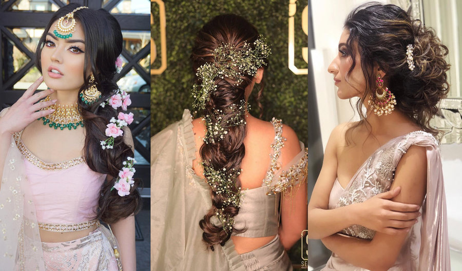 25+ Sangeet Hairstyles That are Beautiful Beyond Words ...