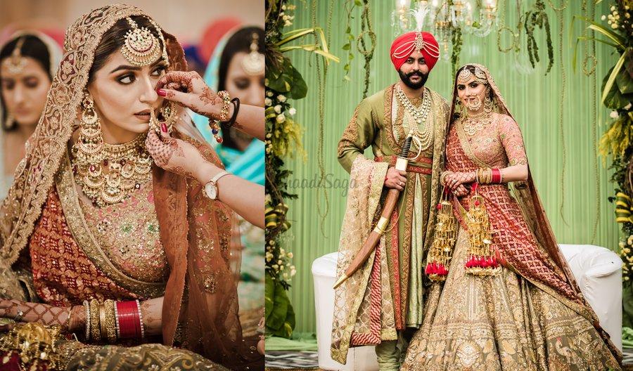 Whimsical Sikh Wedding Of A Fashionista Bride A Dapper Groom