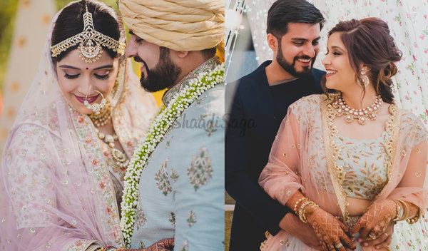 This Couple Had a Panchtatva-themed Wedding & It's Every Bit Unique!