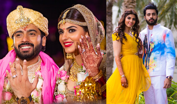 This Wedding Planner's Dubai Wedding had a Seaplane Entry & Floating Baraat