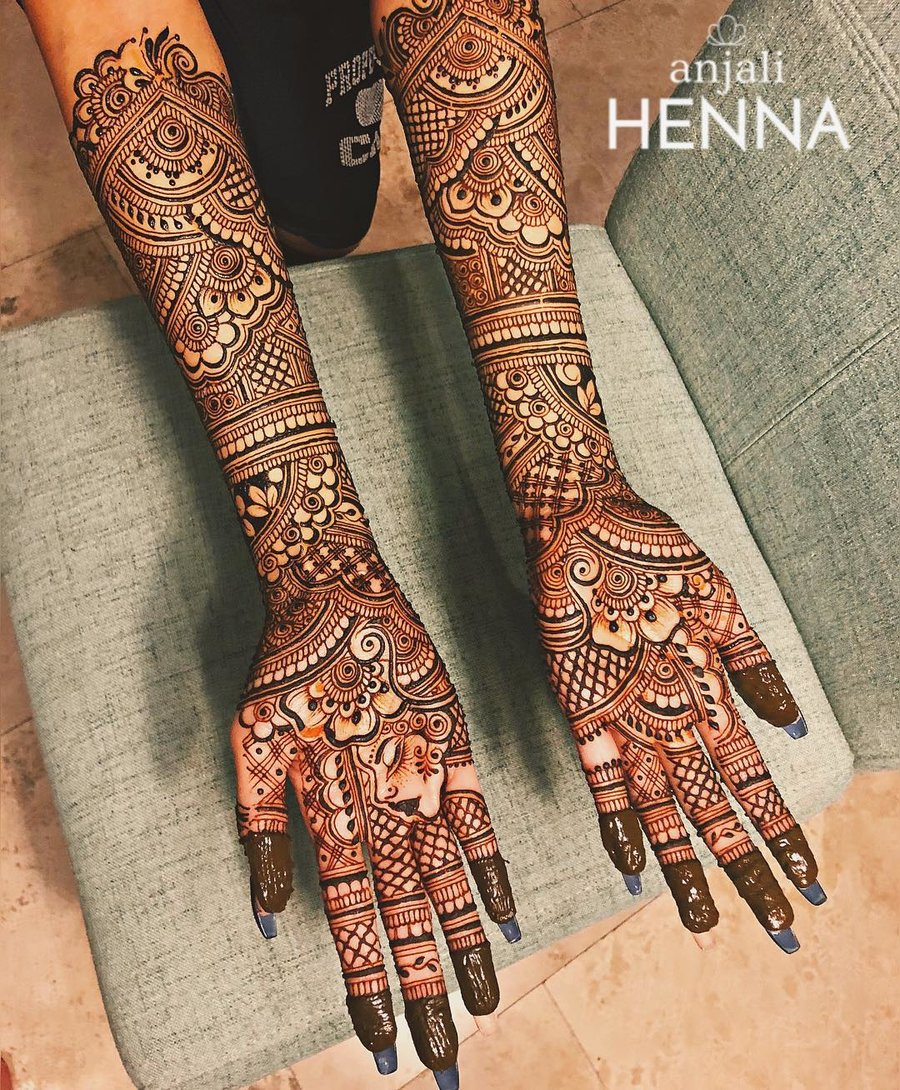 Top 51+ Full Hand Mehndi Designs | ShaadiSaga