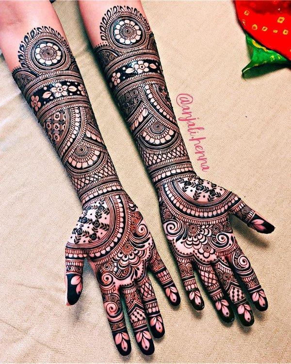 mehndi design full hand beautiful