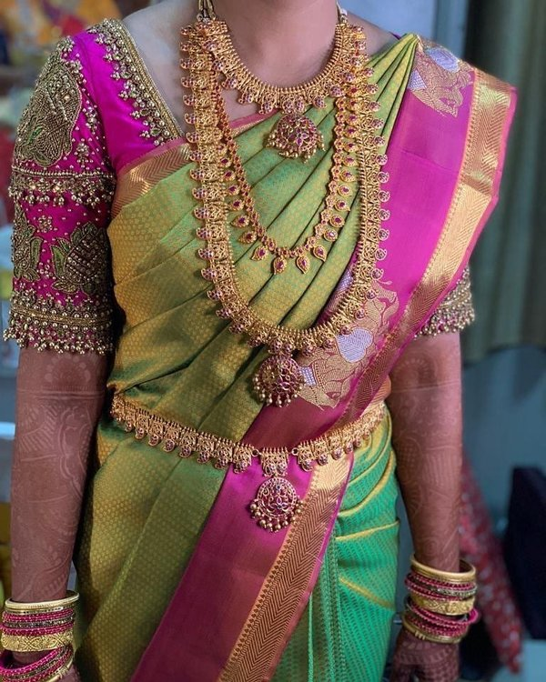 30 South Indian Blouse Designs For A Royal Bridal Look Shaadisaga,Small Home Interior Design Images