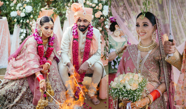 This Couple's Gurgaon Wedding is a Floral Paradise & We Couldn't Agree More