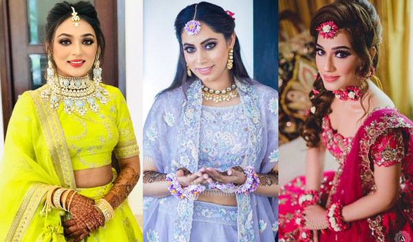 25+ Mehndi Makeup Looks of these Brides will Make your Eyes Pop!