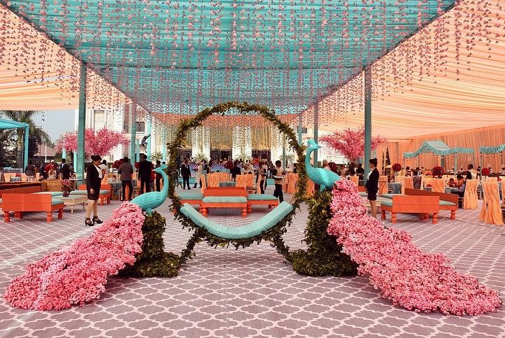 Oh So Fancy Peacock Decor Ideas To Prettify Your Wedding Shaadisaga