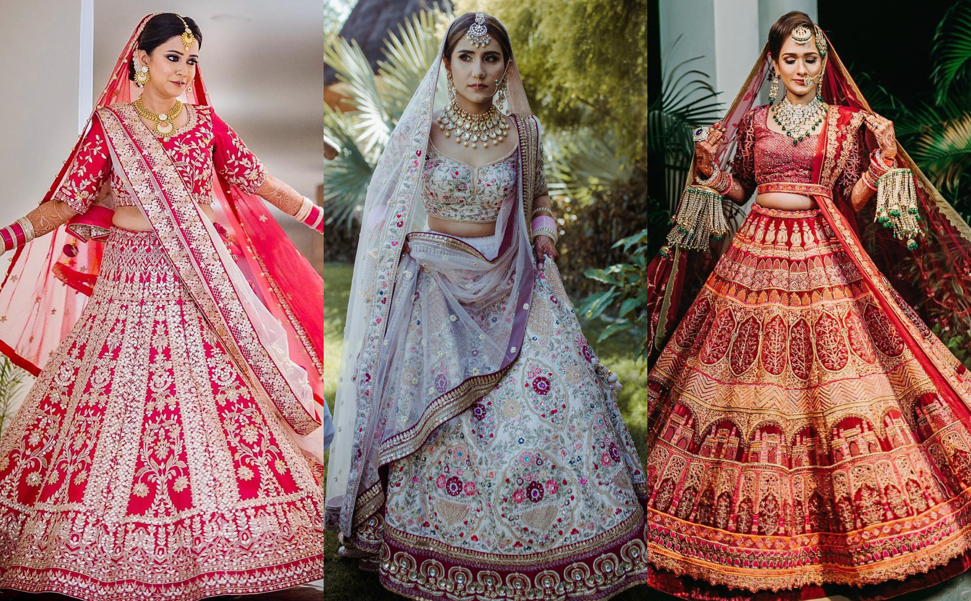 15 Best Bridal Lehenga Shops in Chandni Chowk for Every Budget ...