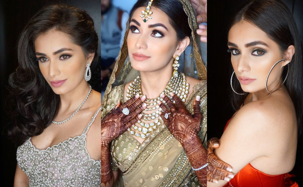 Sparkly Gowns to Flawless Makeup, this Bride levelled up the Bridal Fashion Game