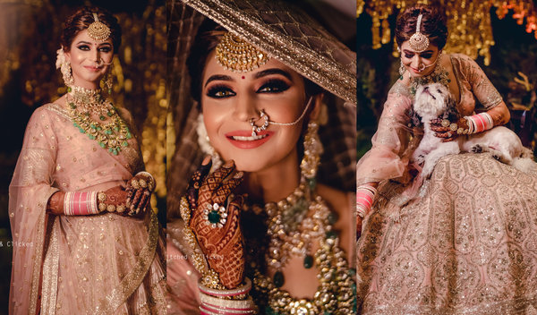 Boisterous Ludhiana Wedding of a Decorator Bride in Jaw-Dropping Looks