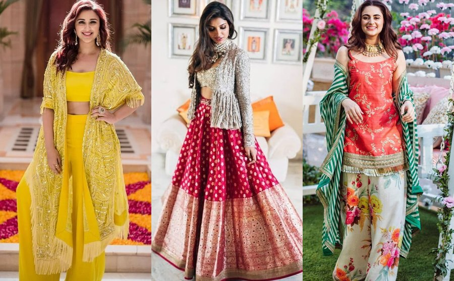 21 Uber Stylish Mehndi Outfits for all you Patakha