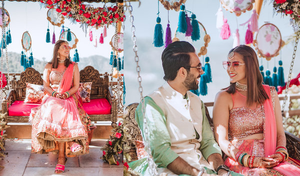 This Wedding Planner Duo's Hillside Mehndi was Inked in Bright Colours