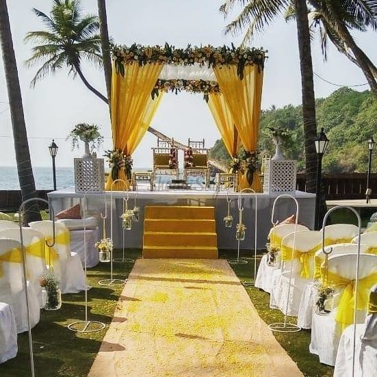 Prainha mandap outdoor