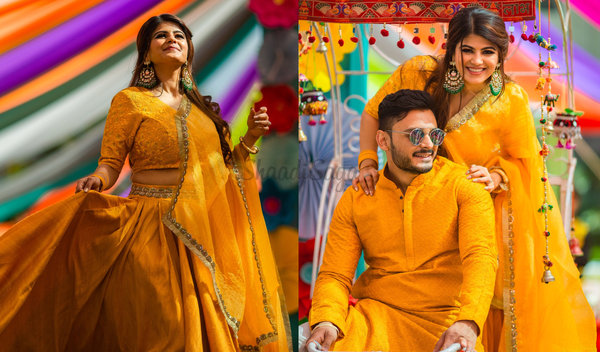 Fun Ahmedabad Wedding Power-packed with Outfit Inspiration & Endless Celebration