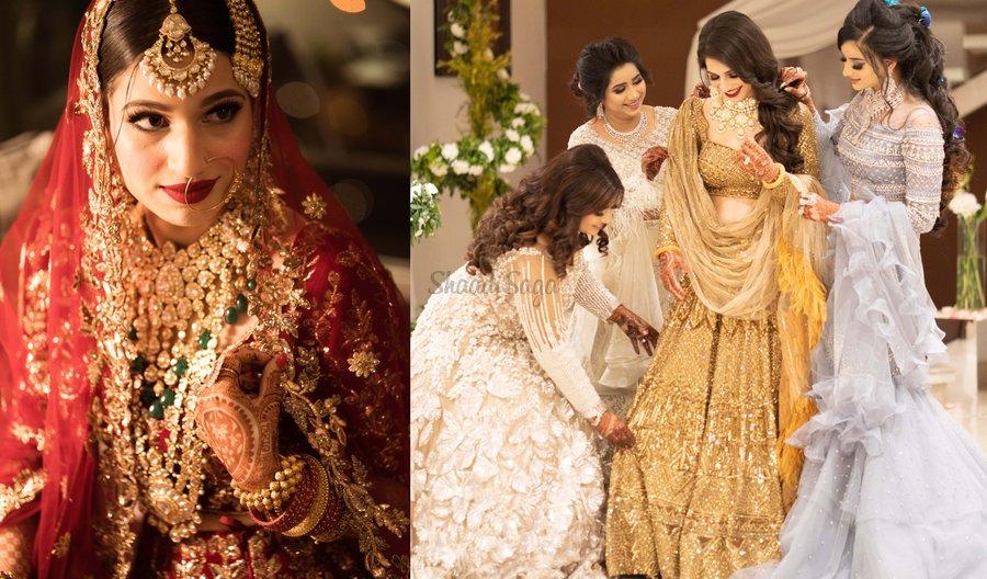 Royal Muslim Wedding With The Bride In A Ravishing Manish Malhotra Lehenga Shaadisaga,A Line Mermaid Wedding Dress