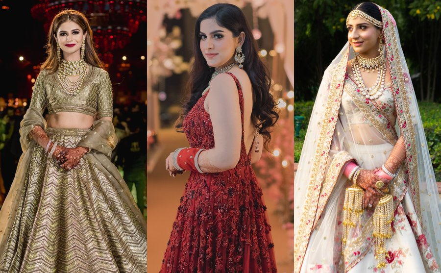 A Complete Outfit Jewellery Guide For Punjabi Brides For Every Function Shaadisaga,Wedding Dress Designers