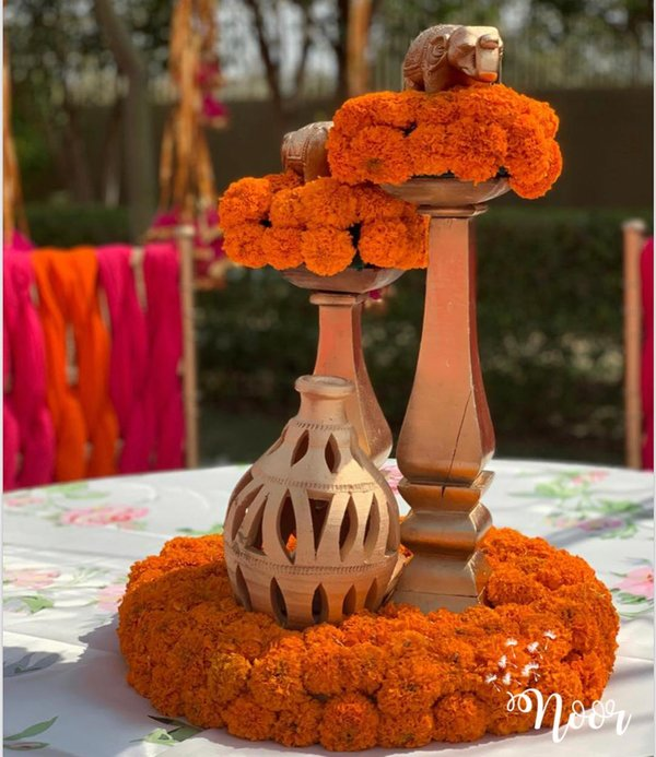 11 Peppy Home Decor Ideas For Your Pre Wedding Functions Shaadisaga