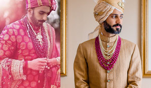 Groom jewellery