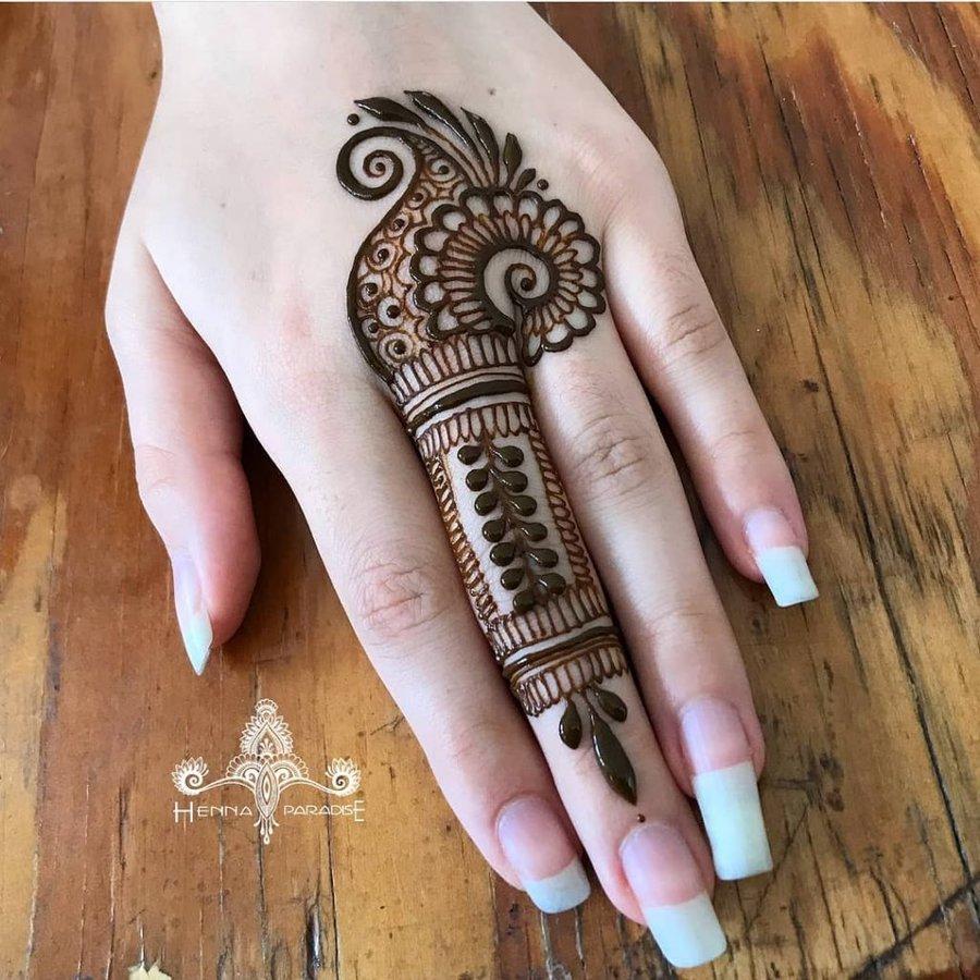 Top 61+ Finger Mehndi Designs