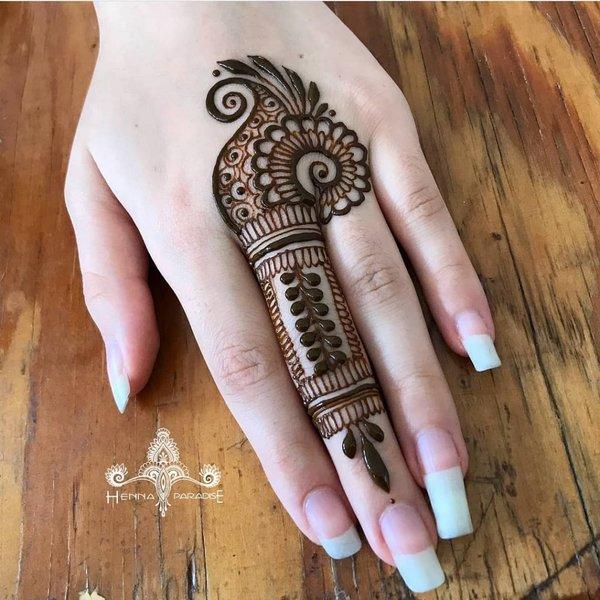 Top 61 Finger Mehndi Designs Shaadisaga