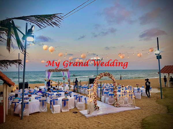 Beach wedding in chennai