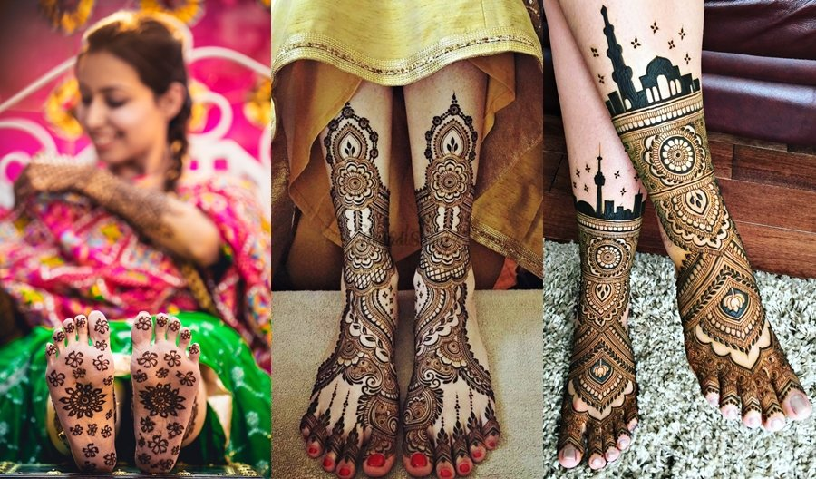 Top 51+ Leg Mehndi Designs (Latest and Trending)   ShaadiSaga