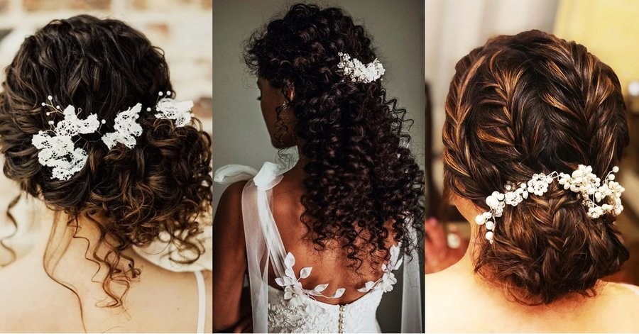 Brides With Curly Hair Check Out These Fun Ways To Style Your Hair Shaadisaga