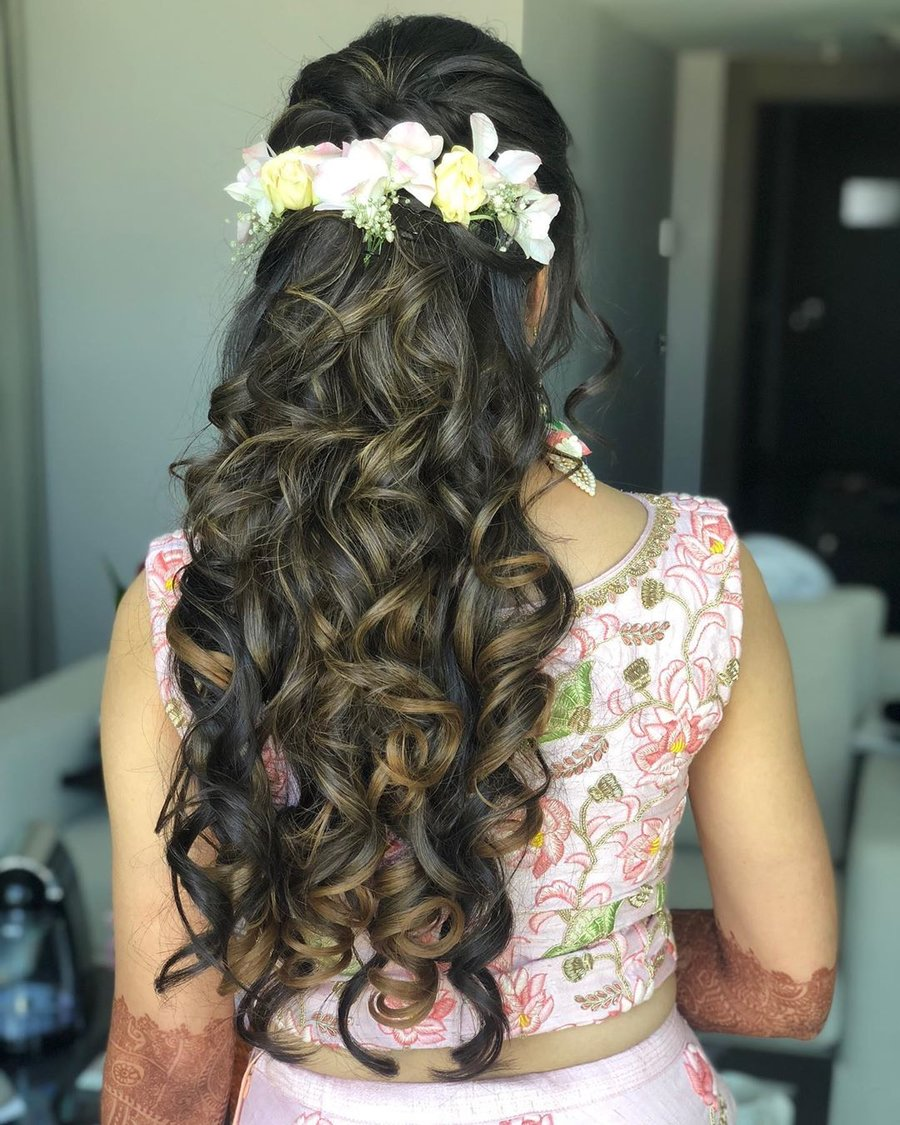 Bun Hairstyle With Lehenga: What To Wear When: Bridal Bun Vs Open Hairstyle