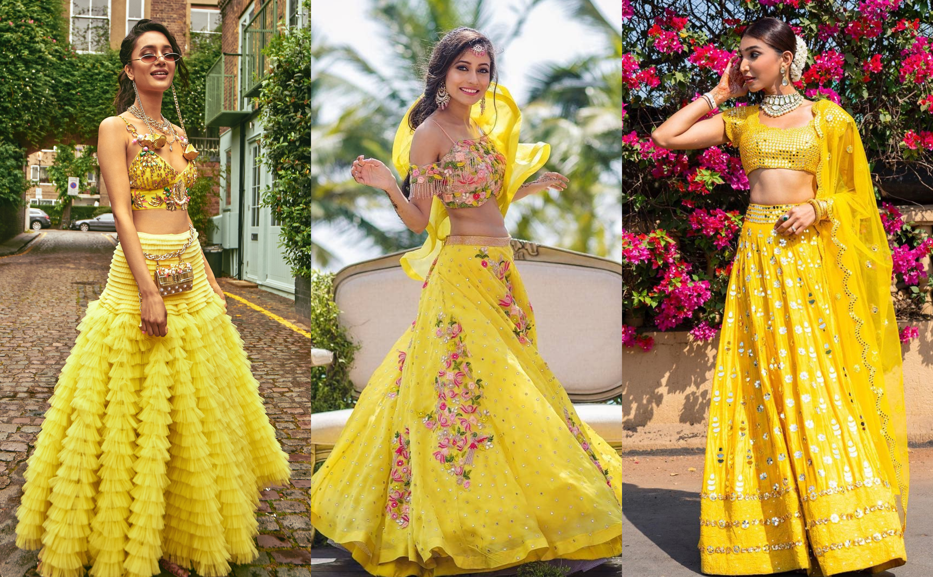 7 Ways To Include Yellow Colour Outfits in Your Wedding