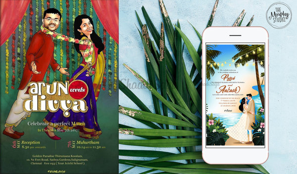 6 Best Mobile Apps To Create Your Wedding E-Invites For FREE!
