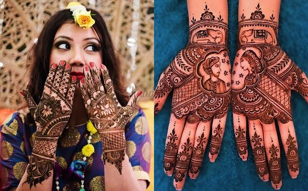 27+ Half Hand Mehndi Designs For Brides & Bridesmaids That Are Simply Whoa!