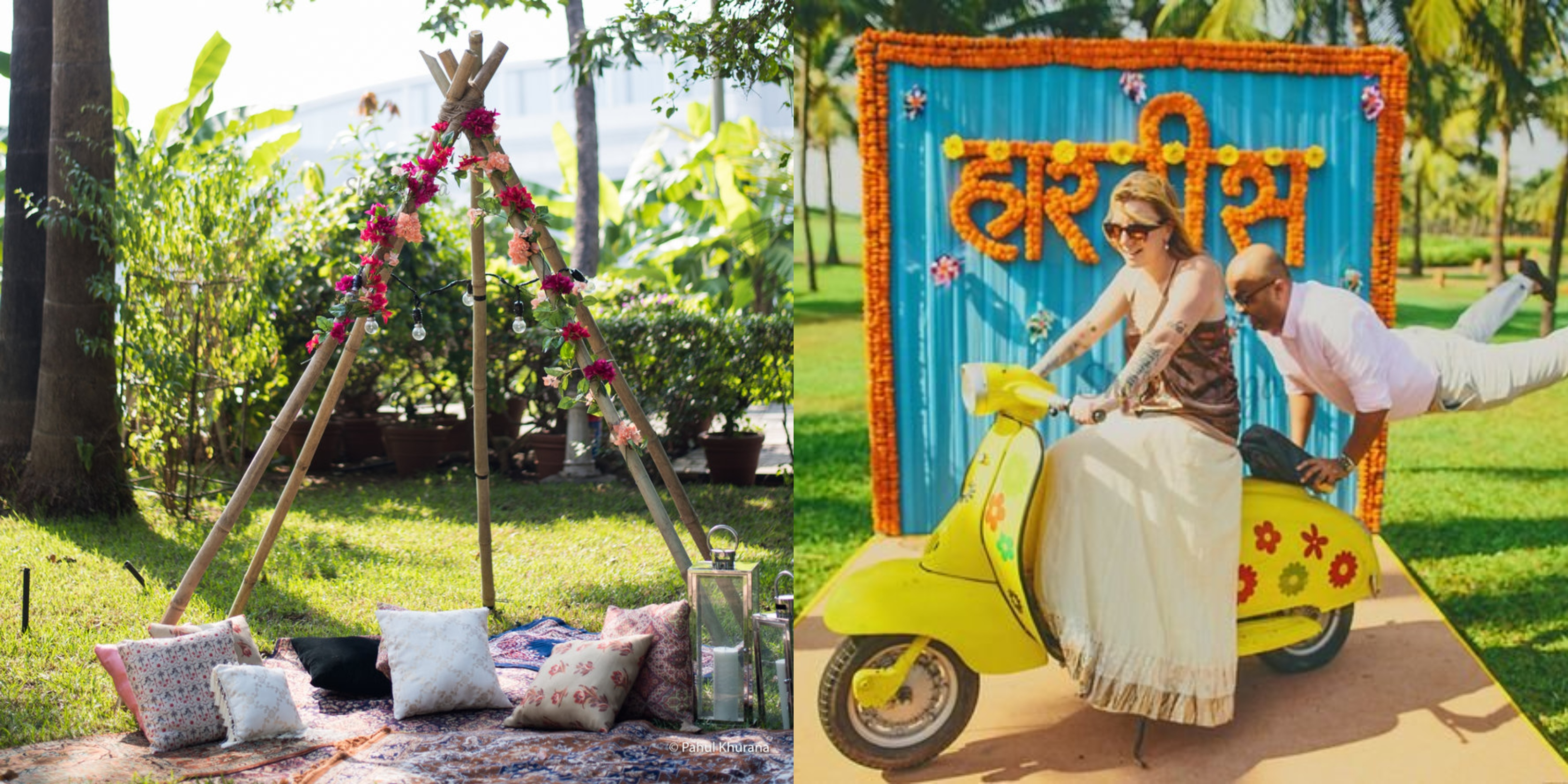 17 Trending Photobooth Ideas For Your Backyard To Terrace Intimate Wedding Shaadisaga