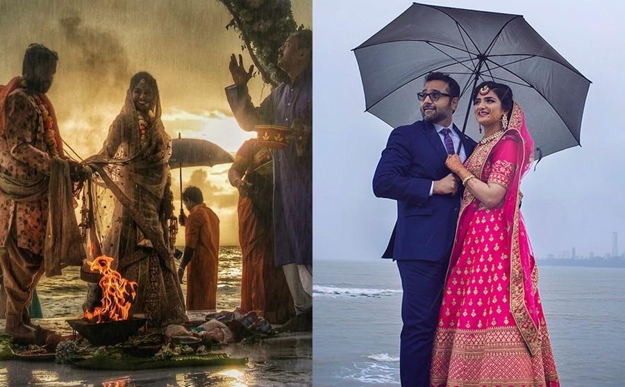 Monsoon Wedding Preparations in India