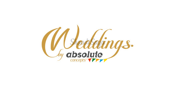 Absolute concepts weddings logo
