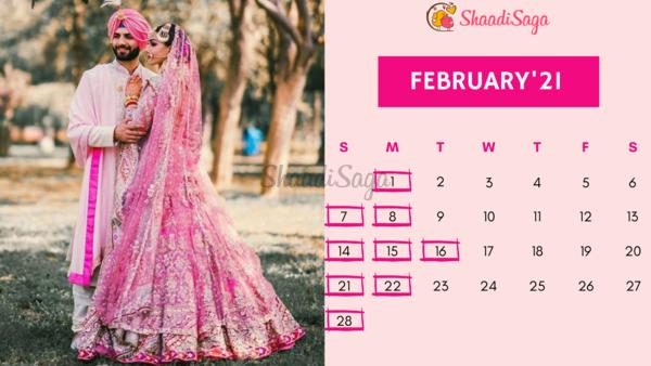 Hindu Calendar 2021 Wedding Dates Best Auspicious Hindu Marriage Dates in 2021 For a 'Shubh Mangal