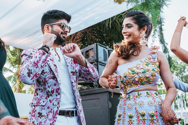 This Couple's Destination Goa Wedding With Designer Outfits is Winning Our Hearts!
