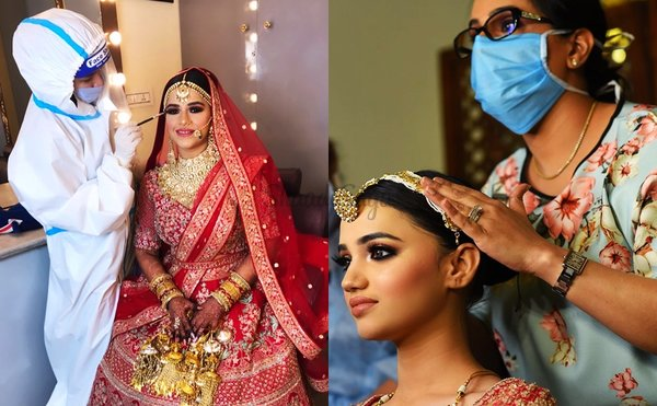 Makeup Artists Reveal: Tips & Precautions For Brides Who Are Having An Intimate Wedding!