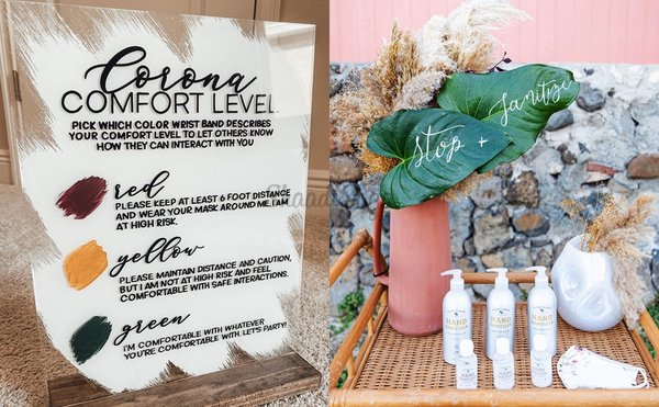 30+ Creative Lockdown Quotes We Spotted at Intimate Weddings!