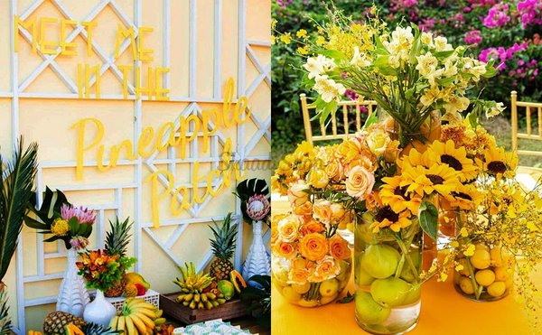 Fruitilicious: Fruit Decor Ideas At Weddings is Trending & Here's How!