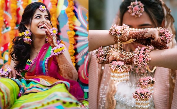 11 Instagram Stores To Shop Your Floral Jewellery From For Your Intimate Wedding!