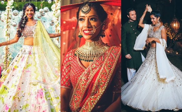 An Indo-European Wedding With A Peppy Bride & A Groom That Grooved To Bollywood Music Like A Pro!