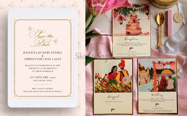 Check Out These Latest Invite Trends We've Spotted For Your Winter Wedding!