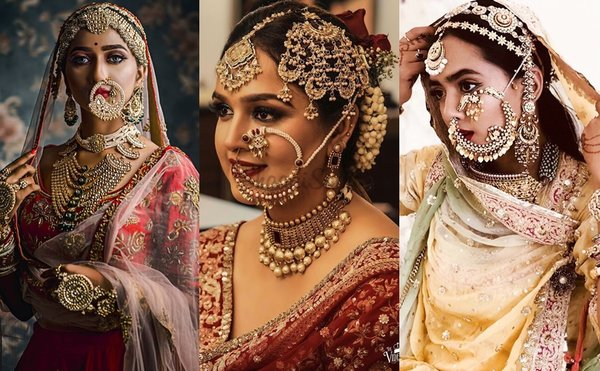 35+ Breathtaking Dramatic Vintage Nath Designs That'll Give You A Maharani Feel!