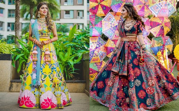 #TrendAlert: Patchwork Lehengas Are The Talk of The Town!