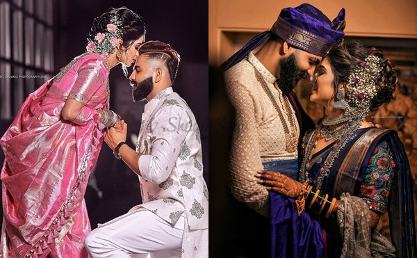 Adorable Portraits of Marathi Couples That'll Make You Want to Get Married Now